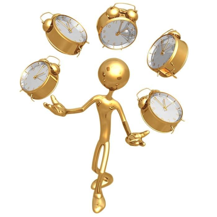 Cinco dicas de gestão de tempo