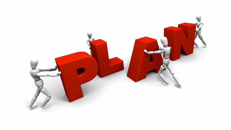 Four steps to a nice strategic planning