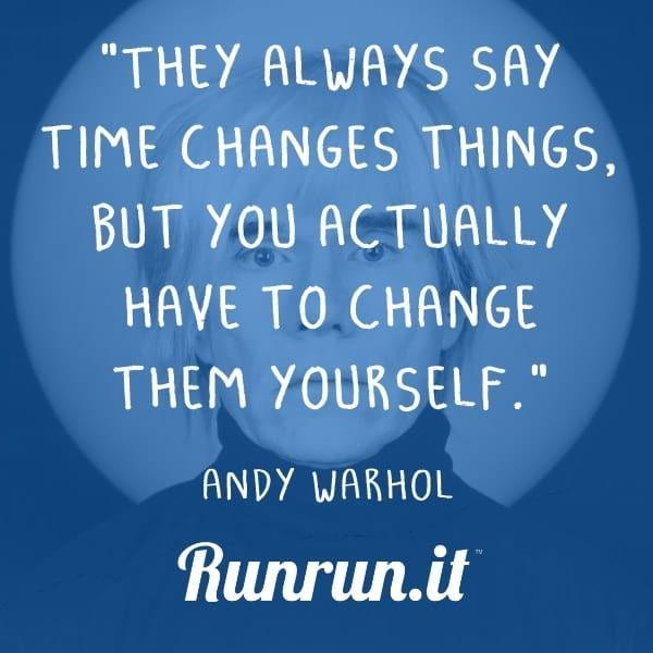 inspiring quotes andy warhol runrun it blog