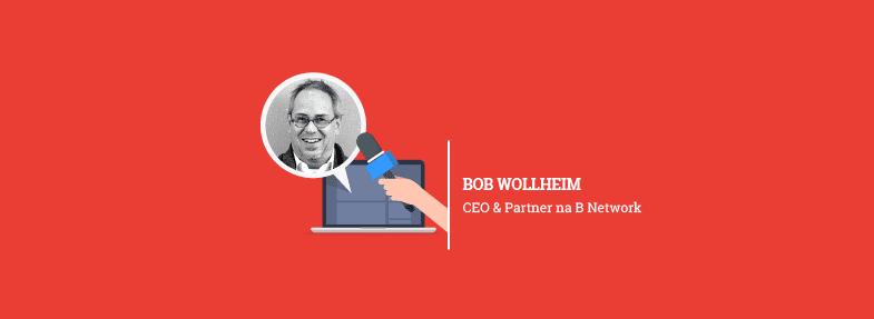 """""""A área de dados é um tremendo 'tsunami' que está acontecendo na indústria criativa"""" – Bob Wollheim"""