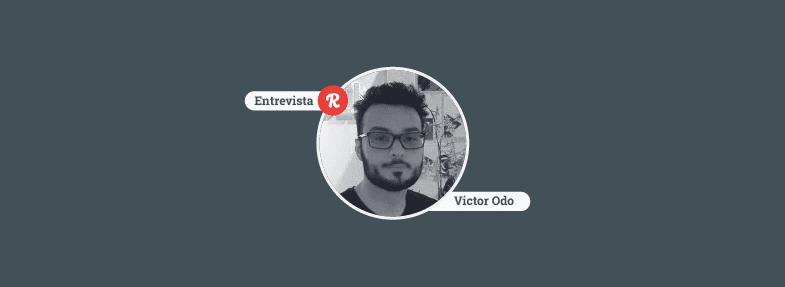 """""""Hoje é muito mais difícil ser programador do que quando comecei"""" – Victor Odo"""